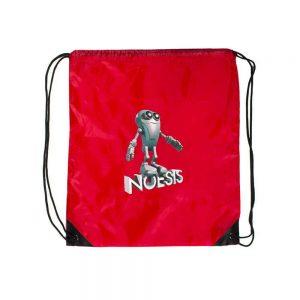 Σακίδιο με κορδόνι Noesis Robot κόκκινο