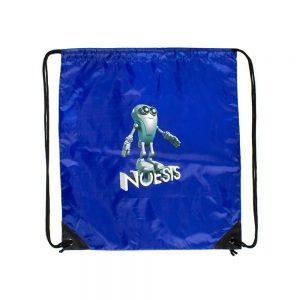 Σακίδιο με κορδόνι Noesis Robot μπλε