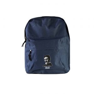 Backpack portrait Tesla μπλε