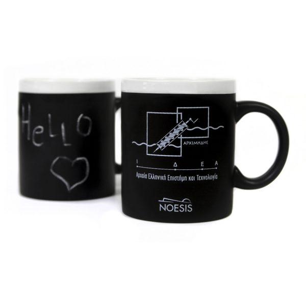 Κούπα chalk mug Κοχλίας του Αρχιμήδη