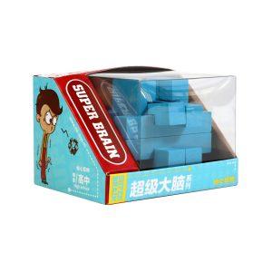 Ξύλινη σπαζοκεφαλιά γαλάζια