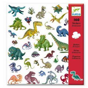 Αυτοκόλλητα δεινόσαυροι Djeco