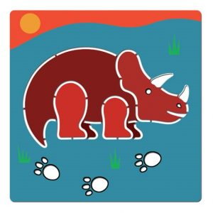 Stencil δεινόσαυροι