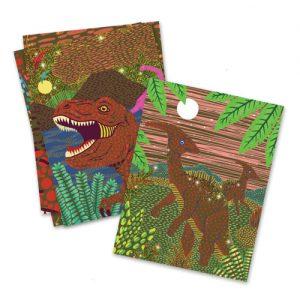 Scratch boards δεινόσαυροι
