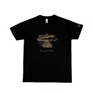 Leonardo T-Shirt Black