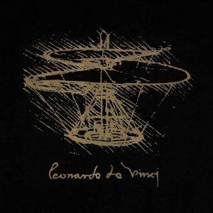 Leonardo da Vinci T-Shirt Black