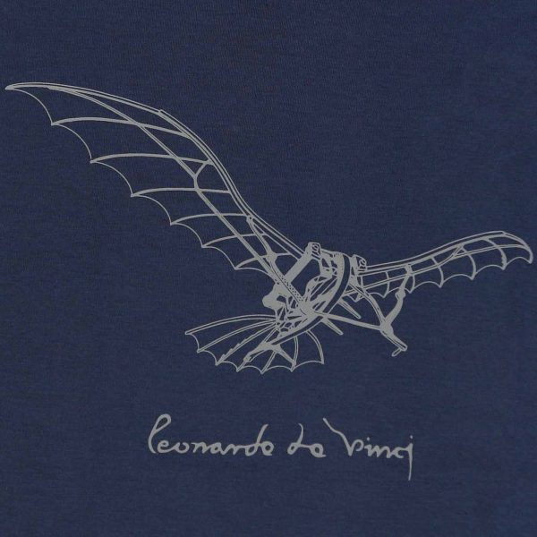 Leonardo da Vinci T-Shirt Blue