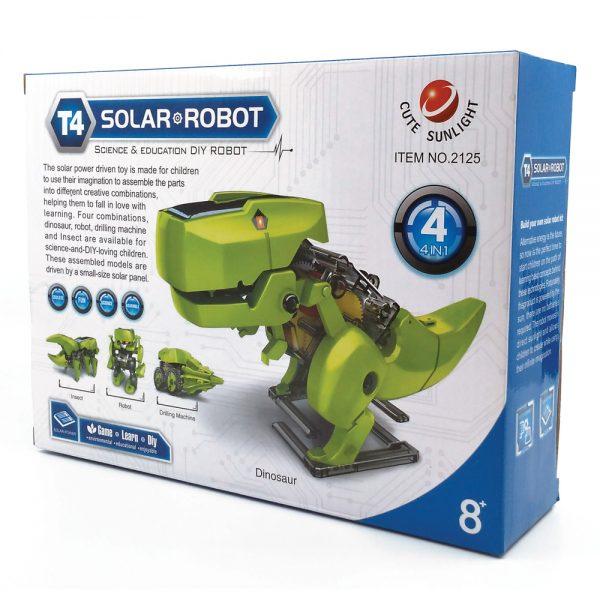 Solar Robot 4 in 1