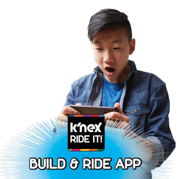 T-Rex Fury Roller Coaster K'NEX